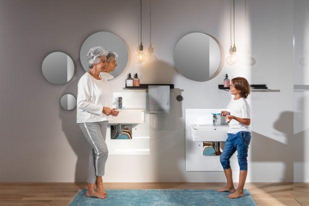 Każdy z domowników, niezależnie od wieku, w łazience powinien czuć się komfortowo. Dlatego urządzając to pomieszczenie trzeba wziąć pod uwagę zróżnicowane potrzeby wszystkich członków rodziny oraz sięgnąć po dedykowane rozwiązania produ