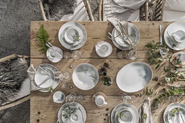 Piękna ceramika - serwis inspirowany naturą