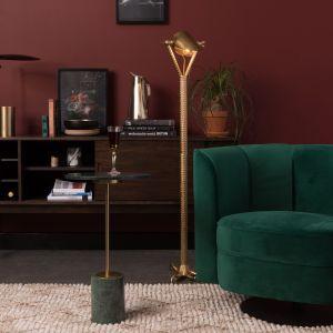 Fotel Lounge Flower to propozycja do designerskich wnętrz. Fot. Dutchbone