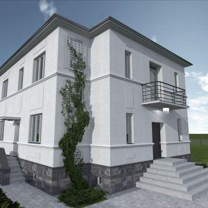Modernizacja jest na etapie prac budowlanych, które polegają głównie na odnowieniu elewacji w tym samym stylu i zagospodarowaniu otoczenia. Fot. Dekop Pracownia Architektury