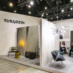 Stoisko Grupy Tubądzin podczas 4 Design Days 2020. Fot. PTWP