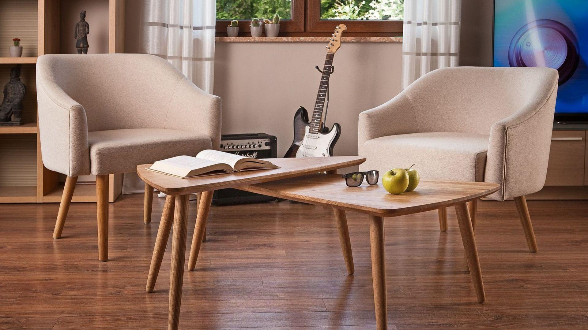 Jadalnia, gabinet, bawialnia, pokój do codziennego relaksu – w niewielkich mieszkaniach salon pełni wiele funkcji. Fot. Paged Meble