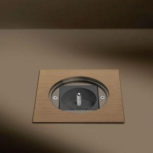 """Brązowy """"Floor box"""", firmy Arpi"""