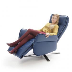 Fotele z funkcją relaksu:model Res  ze sterowaniem manualnym, jak i elektrycznym. Fot. Gala Collezione