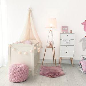 Malujemy pokój dziecka: farba Jedynka Deco & Protect  kolor Bujamy w obłokach. Fot. Jedynka