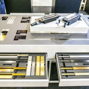 Podczas 4 Design Days Dallmer pokazał system odpływów prysznicowych DallFlex. Fot. PTWP