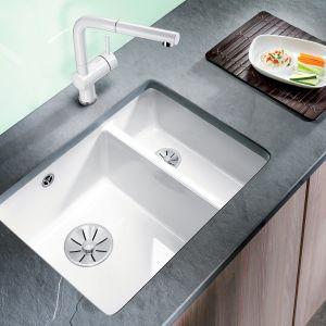Kuchenna strefa zmywania. Zlewozmywak ceramiczny Blanco Subline. Fot. Blanco/ Comitor