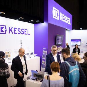 Najnowsze propozycje eleganckich i niemalże niewidocznych odpływów prezentowała w trakcie 4 Design Days 2020 niemiecka marka Kessel. Fot PTWP