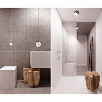 mieszkanie dla dwojga, wizualizacja łazienki