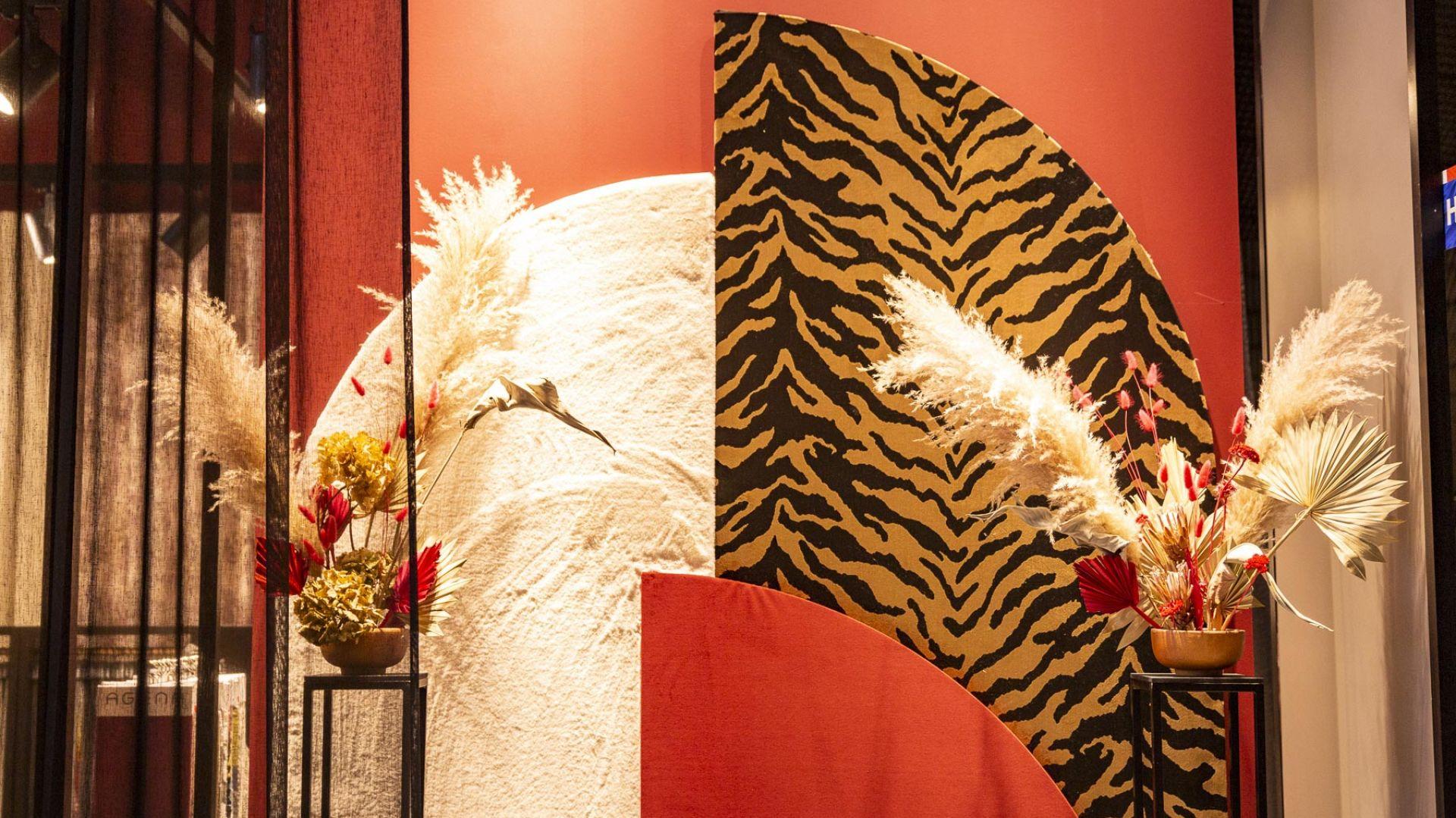 4DD: modne tkaniny na stoisku Dekoma