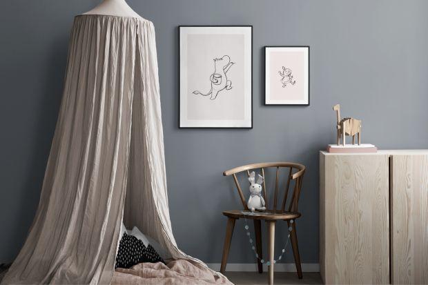 Udekoruj ściany w pokoju malucha ulubionymi postaciami ze świata Muminków!