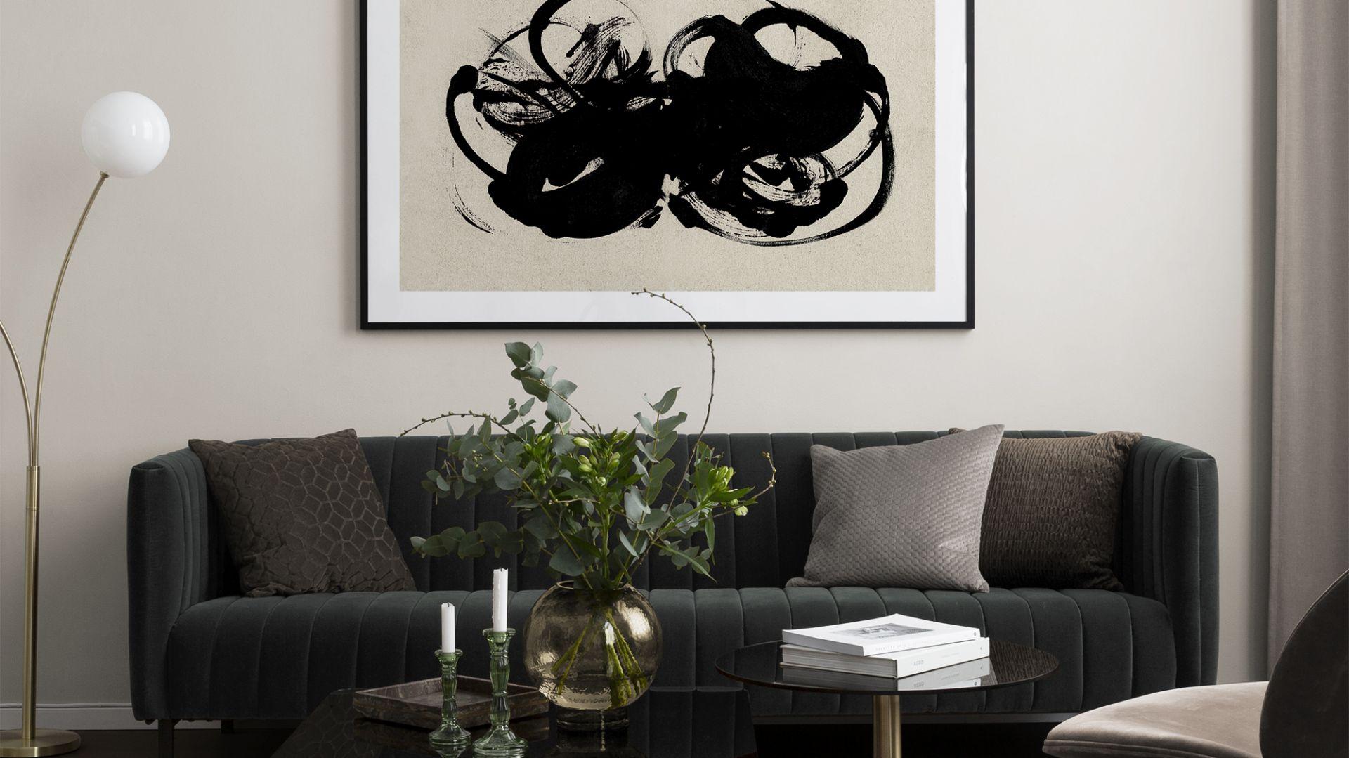 Ramki i plakaty artystyczne w rozmiarze 100x150 cm. Fot. Desenio