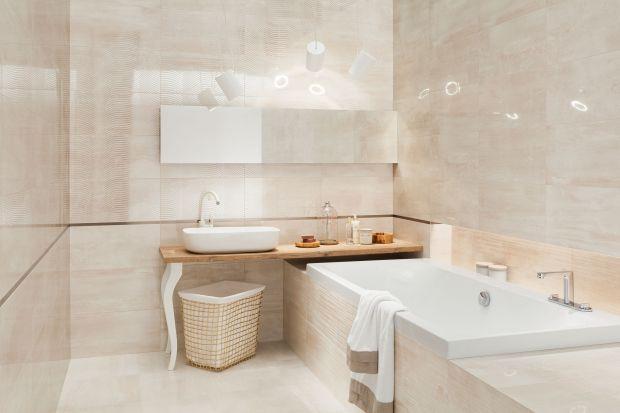 Błyszczące płytki ścienne w klasycznym, bardzo eleganckim odcieniu pozwolą stworzyć łazienkę, którą można ozdobić dowolnymi dodatkami, w zależności od charakteru, który pragniemy nadać pomieszczeniu.