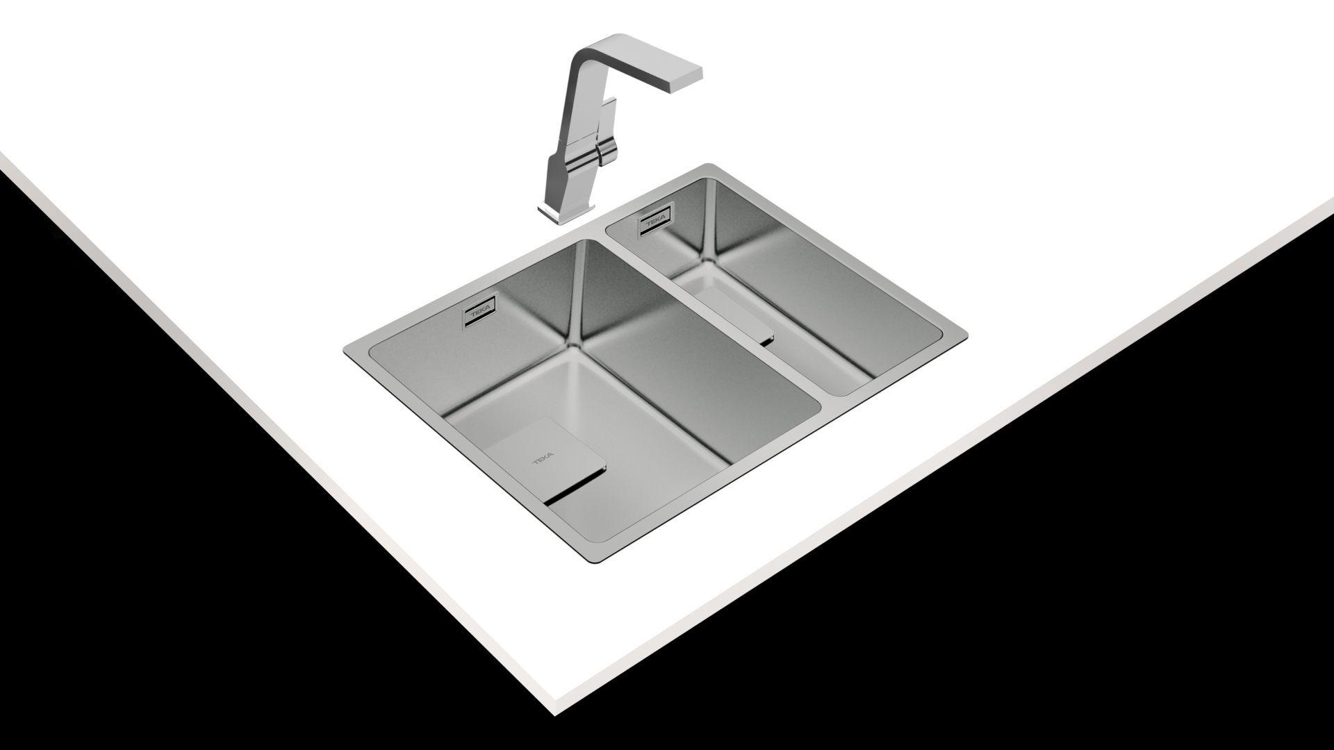 Zlewozmywaki Flexlinea RS15/Teka. Produkt zgłoszony do konkursu Kuchnia - Wybór Roku 2020.