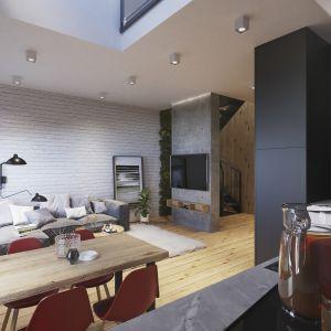 grMieszkanie z antresolą. Fot. Apartamenty Sienkiewicza 44/Easy-Resize
