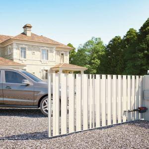 Brama wjazdowa: wybierz automatyczny napęd. Fot. Nice