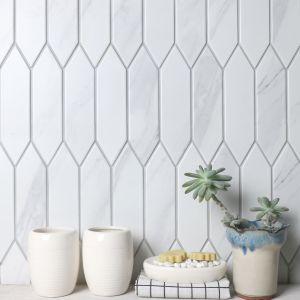 Heksalong Marble Mat - kolekcja mozaiki Marble. Produkt zgłoszony do konkursu Kuchnia - Wybór Roku 2020.