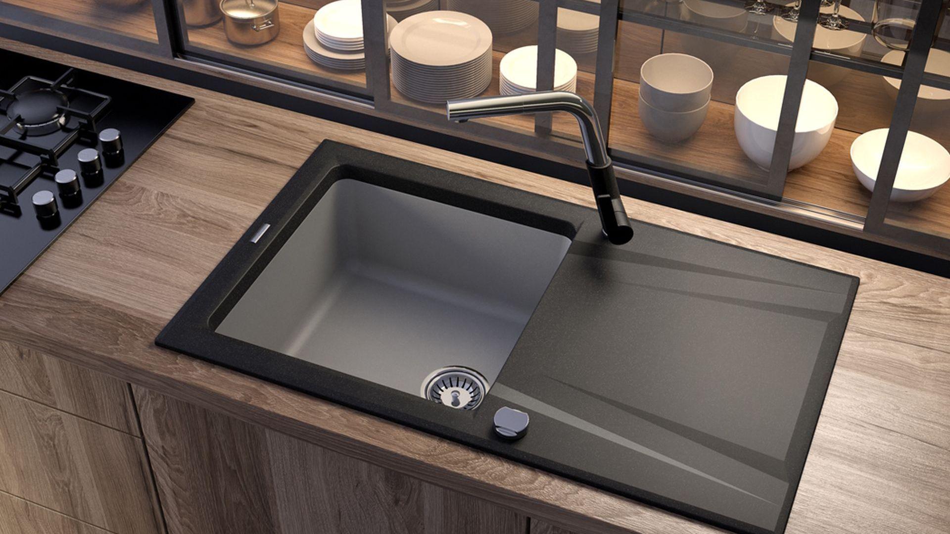 Kolekcja zlewozmywaków hybrydowych Prime Bicolor/Deante. Produkt zgłoszony do konkursu Kuchnia - Wybór Roku 2020