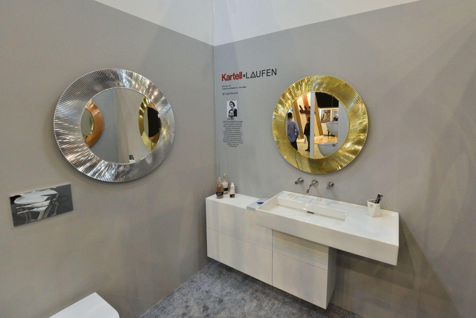 Stoisko Roca i Laufen na 4 Design Days 2020. Fot. PTWP