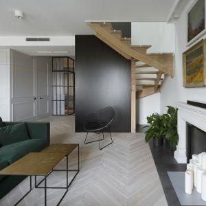 Dwupiętrowy apartament zajmuje powierzchnię 123 m kw. Fot. Yassen Hristov