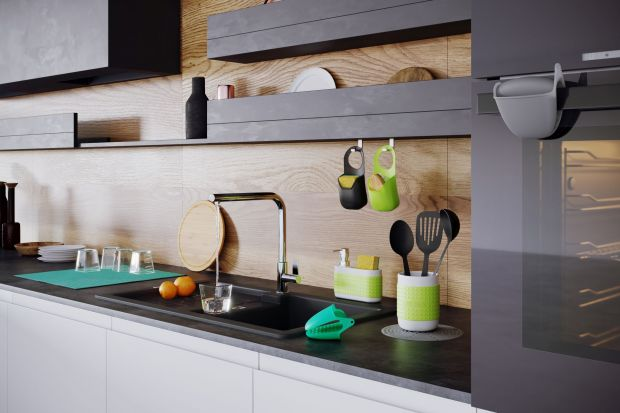 Silikonowy pojemnik na zmywak – to praktyczne i niezwykle estetyczne rozwiązanie na przechowywanie gąbki w kuchni. Produkt zgłoszony do konkursu Kuchnia - Wybór Roku 2020