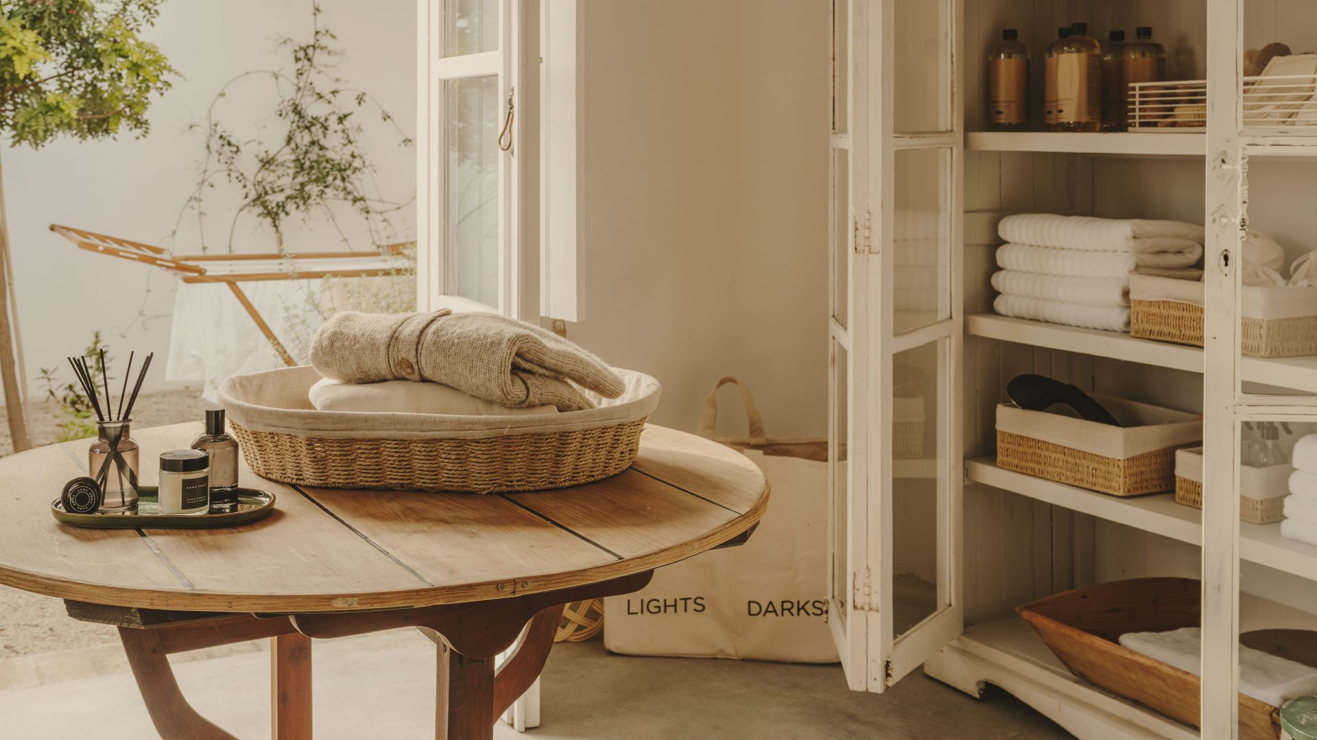 Zara Home Laundry collection. Fot. Zara Home