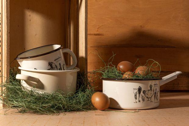 Tradycyjna kuchnia -  nowa kolekcja naczyń emaliowanych