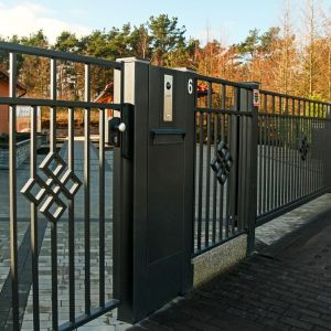 Nowoczesna automatyka domowa: Centerbox. Fot. Plast-Met Systemy Ogrodzeniowe