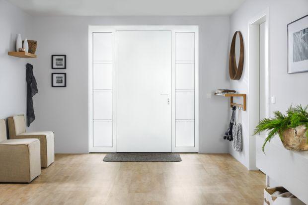 Drzwi zewnętrzne - nowy model z aluminium i stali