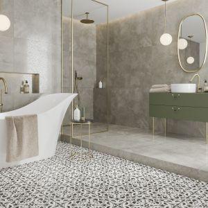 Płytki do łazienki. Kolekcja Patchwork Concept, wzór Naomi. Fot. Opoczno