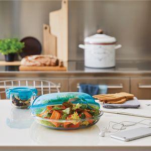Szklane pojemniki do przechowywania żywności Frigoverre Bormioli Rocco. Fot. Zasmakuj Radości