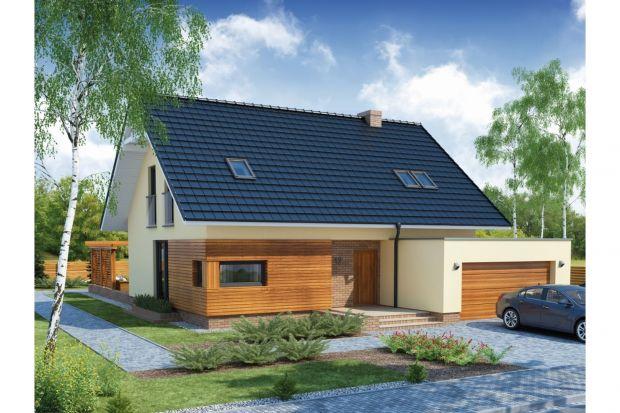 Bruno 2 PS to projekt niedużego (niecałe 129 mkw. powierzchni) domu jednorodzinnego z dwustanowiskowym garażem. Budynek charakteryzuje zwarta bryła przykryta dwuspadowym dachem - co czyni dom stosunkowo tanim w budowie i eksploatacji.