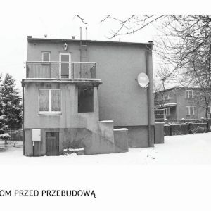 Tak prezentował się dom przed modernizacją. Fot. Tomasz Zakrzewski