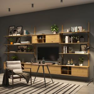 Oświetlenie salonu: 3 dobre sposoby. Fot. GTV