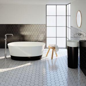 Umywalka stojąca z kolekcji DUO dostępna w ofercie Marmorin Design / fot. Marmorin Design