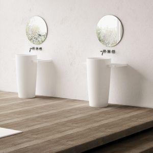 Umywalka stojąca FEBE dostępna w ofercie Marmorin Design / fot. Marmorin Design