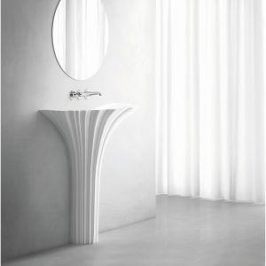 Umywalka stojąca Flora dostępna w ofercie Marmorin Design / fot. Marmorin Design