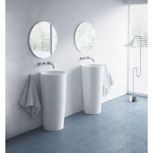 Umywalka stojąca Noemi dostępna w ofercie Marmorin Design / fot. Marmorin Design