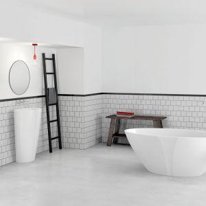 Umywalka stojąca z kolekcji  Selia dostępna w ofercie Marmorin Design / fot. Marmorin Design