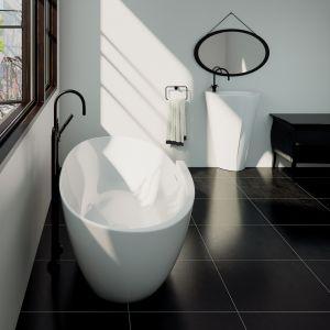 Umywalka stojąca z kolekcji Zora dostępna w ofercie Marmorin Design / fot. Marmorin Design