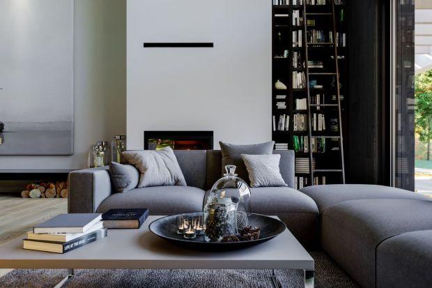 HomeKONCEPT 67 to nowoczesny dom urządzony w eleganckim stylu. We wnętrzu jest dużo naturalnego światła, otwartych przestrzeni i ciekawych rozwiązań kolorystycznych. Jasne barwy mieszają się tu z ciemnymi. Wszystko tworzy jednak spójną całoś�