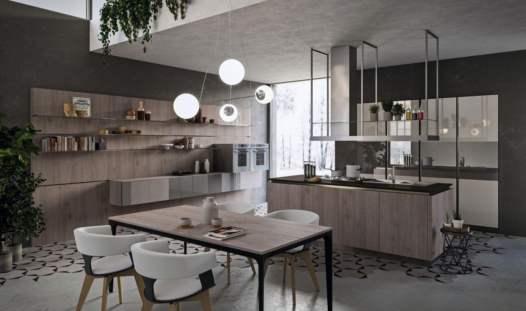 Laboratorium kuchenne Lab13 dzięki modułowości mebli umożliwia zwiększenie ich pojemności o 20%, łącząc design z pięknem, jakością i wygodą. Fot. Aran Cucine