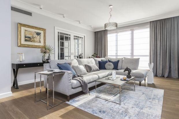 """Choć nie jest mu obce poczucie luksusu, Hamptons to przede wszystkim styl """"do mieszkania"""", który sprytnie łączy komfort i nienaganny wygląd."""