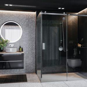 Kabiny prysznicowa Area dostępna w ofercie firmy Roca. Fot. Roca