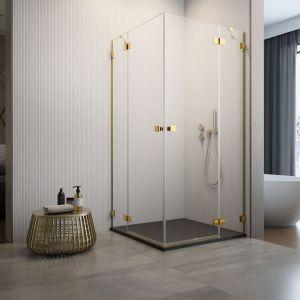 Kabina prysznicowa Essenza Pro Gold KDD medium dostępna w ofercie firmy Radaway. Fot. Radaway