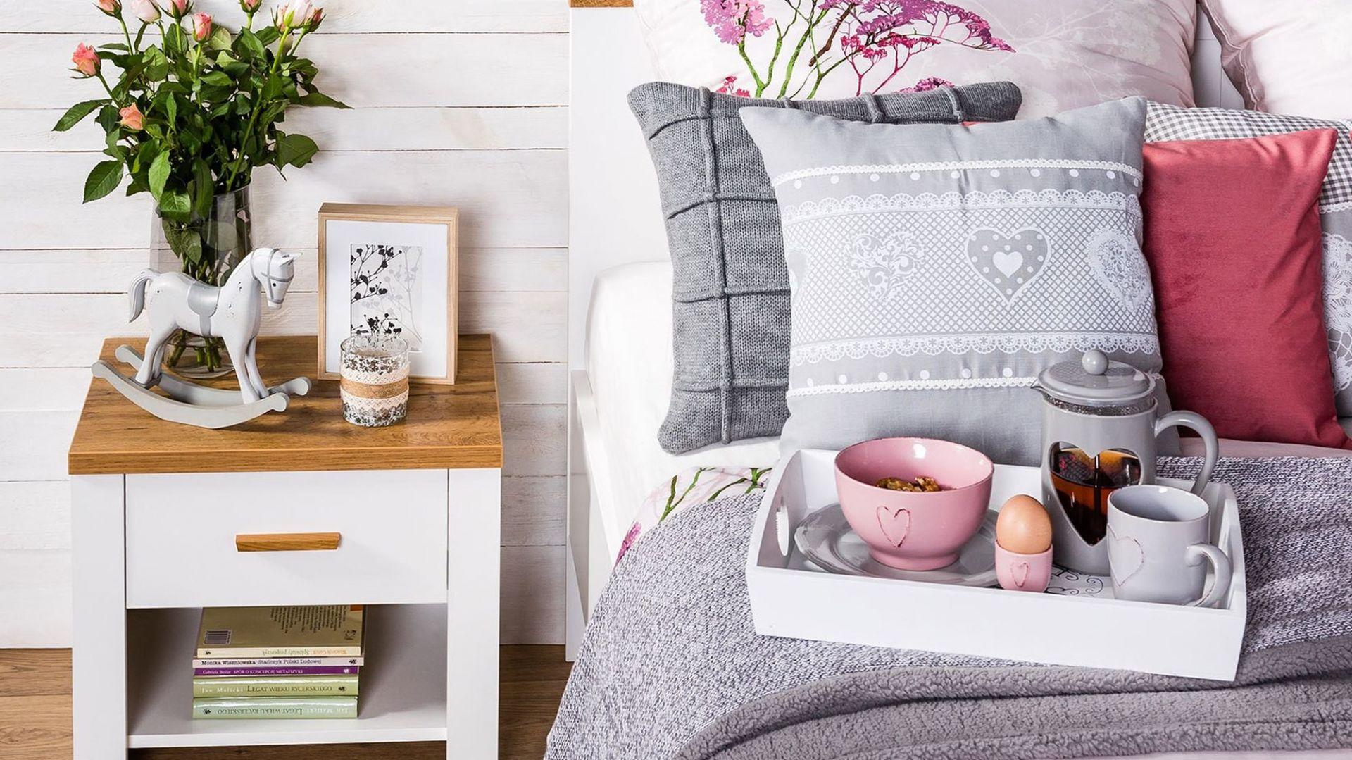 Piękna sypialnia – aranżacja w trzech krokach. Fot. Agata