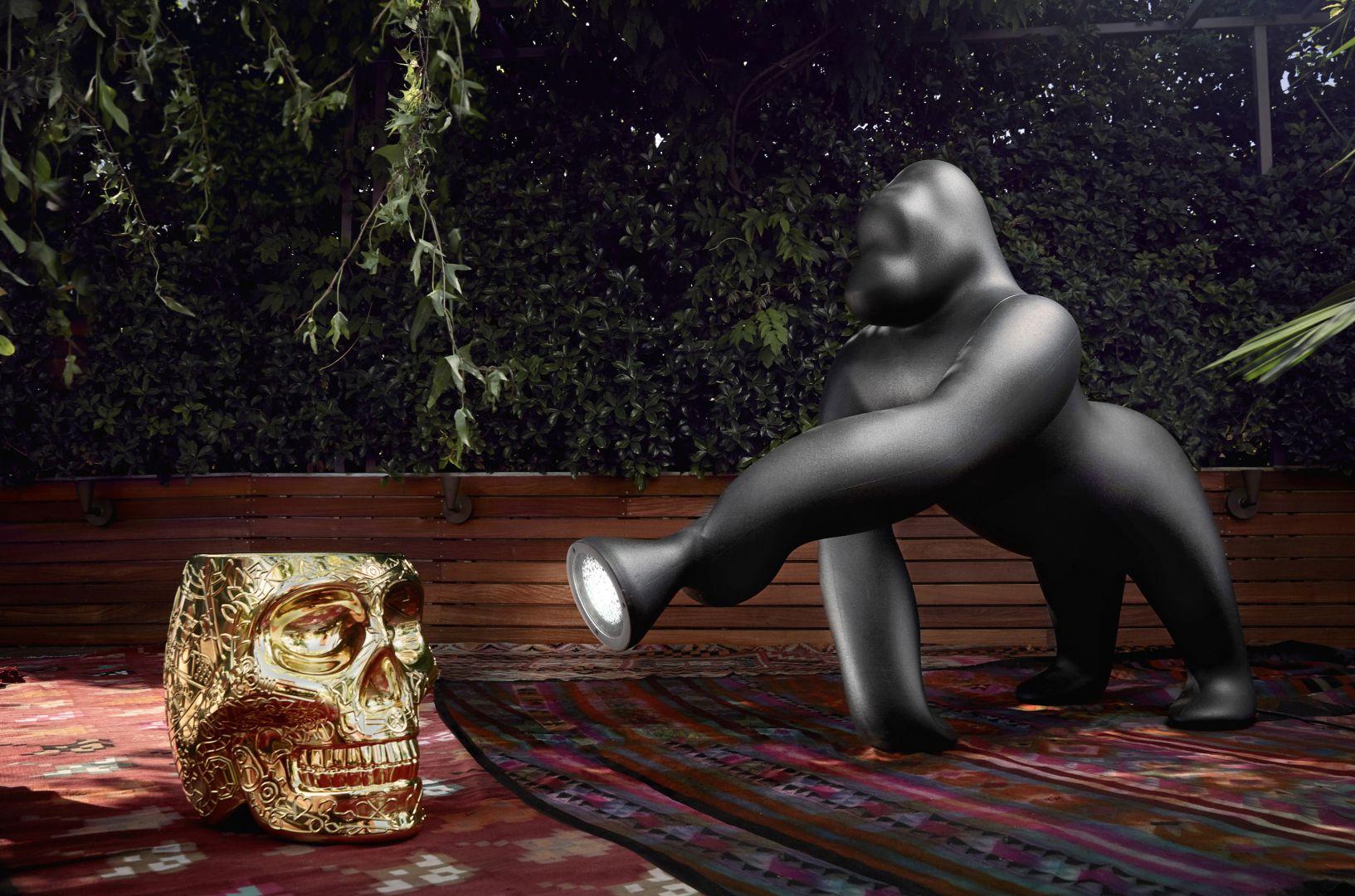 Nietuzinkowa lampa Kong projektu Stefano Giovannoni. Fot. Qeeboo
