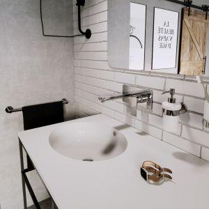 Algeo Square – baterie umywalkowe do montażu podtynkowego; estetyczne, oszczędne w formie, chromowane. Fot. Ferro