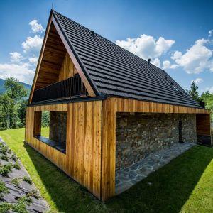 Willa Frame w Kościelisku. Projekt: Karpiel Steindel Architektura. Fot. Krystian Morawetz