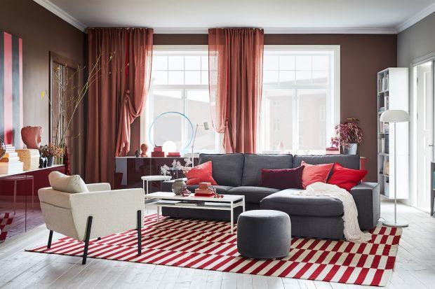 10 pomysłów na kolor w salonie